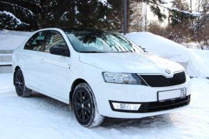 Прокат автомобиля Skoda Rapid 2016 года в Томске