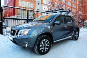 Nissan Terrano с багажником